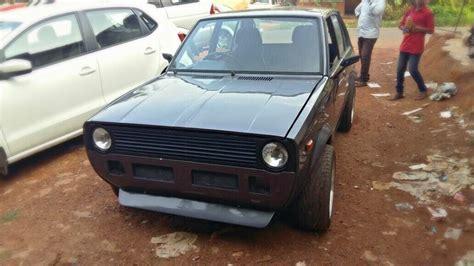 Maruti 800 SS80 modified to look like VW Golf GTi Mk1 ...