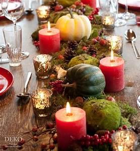 Einfache Herbstdeko Tisch : die besten 25 herbstliche tischdeko ideen auf pinterest erntedank tischdeko basteln glas ~ Markanthonyermac.com Haus und Dekorationen