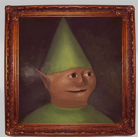 Dank Memes Gnome - a portrait of a child gnome child know your meme