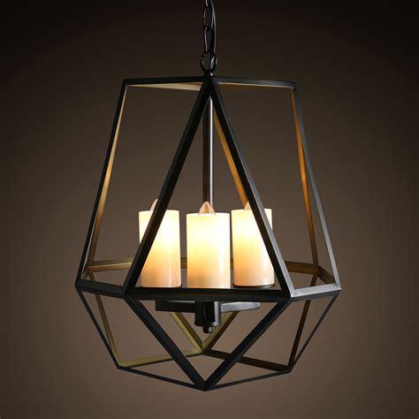 aliexpress buy vintage 3 lights loft iron candle