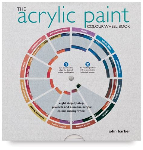 the acrylic paint colour wheel book presents a series of