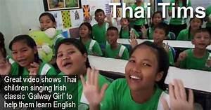 Thai Tims sing Galway Girl | Ireland Calling
