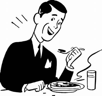 Clipart Eating Transparent Eat Happy Meal Steak