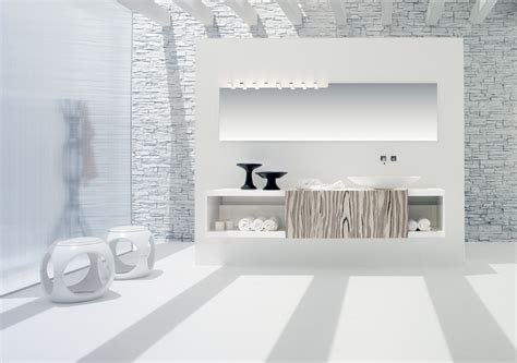 Simple White Bathroom Design-stylehomes.net