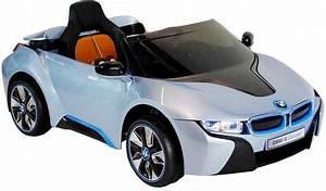 Auto Für Kinder Elektroauto Kinder Bmw I8 Blau Felgen Schalter Am