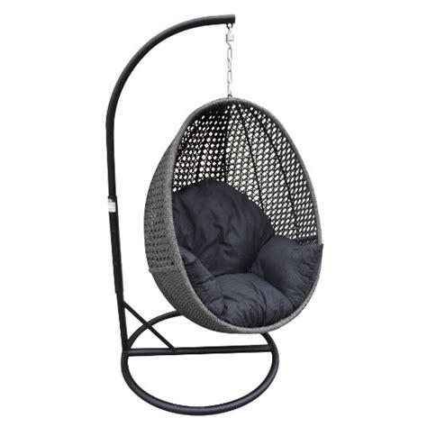 hanging egg chair granite wicker inspired