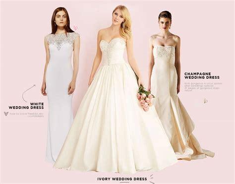 ivory  white wedding gown debatedoes