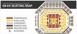 Spurs Ticket Central Seating Map The Official Site Of