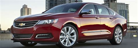 2016 Chevy Impala Wins Full-size Car Best Buy Of The Year