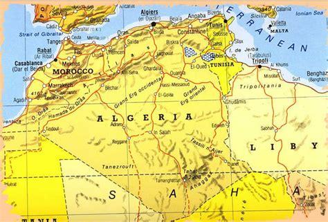 Carte Sat Algerie by Constantine Algeria Carte Et Image Satellite