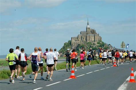 the mont michel marathon may 2018