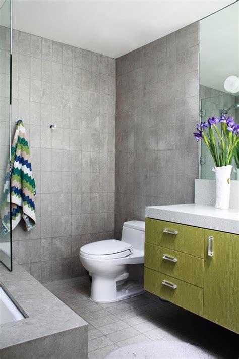 Bathroom Ideas In Grey by Grey And Lime Green Bathroom My Web Value