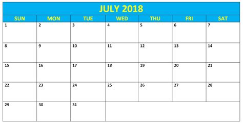 2018 calendar template for word editable july 2018 word calendars templates calendarbuzz