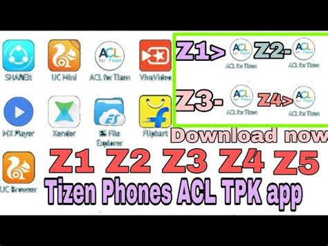 tizen tpk all apps problem solved tizen phones z1 z2 z3 z4 all tpk apps now