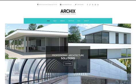 Best Architectural Website by 20 Premium Architecture Html5 Templates
