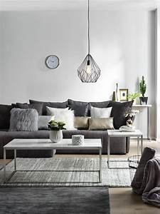 Farben Kombinieren Wohnung : anthrazit grau oder silber verleihen dem raum nordischen charme und lassen sich super mit ~ Orissabook.com Haus und Dekorationen