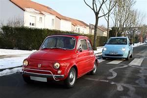Fiat 500 Ancienne : vid o fiat 500 luxe 1970 vs fiat 500 twinair 2008 t te queue m canique ~ Medecine-chirurgie-esthetiques.com Avis de Voitures