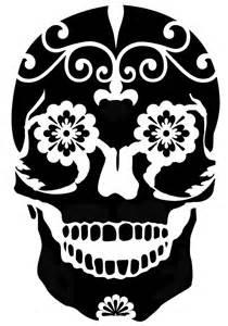 Sugar Skull Pumpkin Stencils Free by Printable Sugar Skull Stencils Easy Sugar Skull Stencil