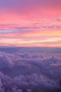pink to purple sky aesthetic pretty sky sky and clouds