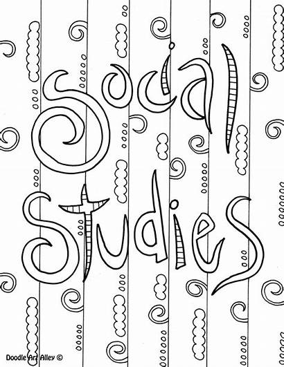 Coloring Studies Social Subject Printable Science Notebook