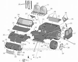 Power Wheels H0438 Parts List And Diagram