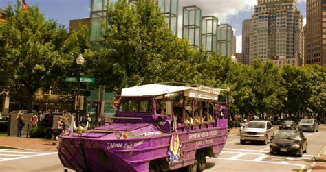 Duck Boat Tours Coupons by Save 14 On Boston Duck Tour Tickets Boston Living On