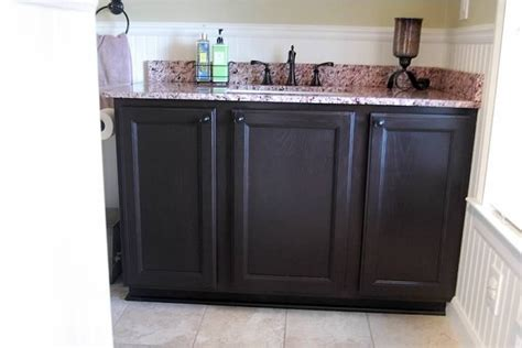 how to stain oak cabinets updating oak cabinets with espresso gel stain from general