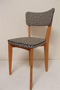 Relooker Des Chaises : petites chaises vintage en tissus knoll chairs pinterest chaise mobilier de salon et ~ Melissatoandfro.com Idées de Décoration