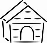 Doghouse Openclipart Webstockreview Clipartmag Nicepng sketch template