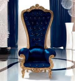 designer regal furnitures for decor chair king and regal armchair throne by caspani