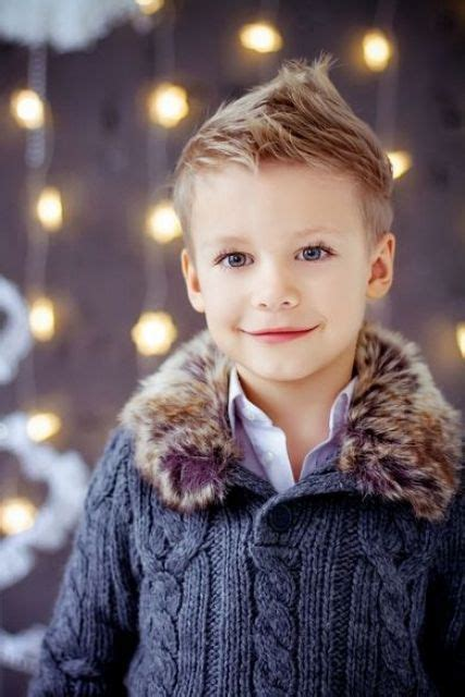 21 Cute And Trendy Haircuts For Little Boys   Styleoholic