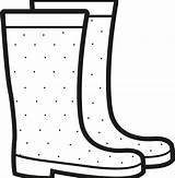 Rain Boots Coloring Printable Clipart Duck Transparent Pinclipart Stivali Colorare Disegni Automatically Start Doesn sketch template