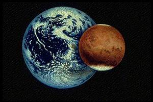 Compare the topography of Earth and Mars with Worldwide ...