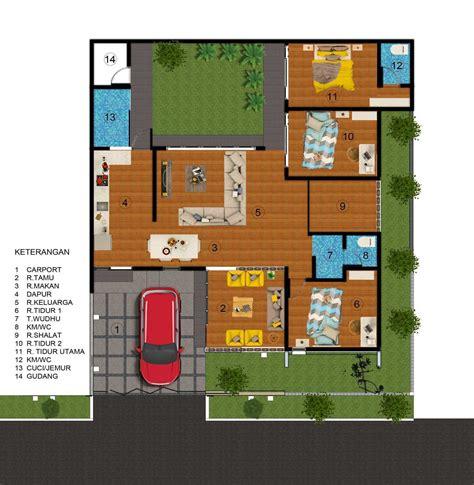 denah rumah mewah desain rumah minimalis terbaru