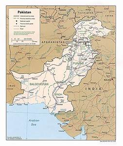 Pakistan Maps - Perry-Castañeda Map Collection - UT Library Online Pakistan