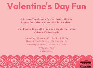 Valentine's Day Fun for Children! – Newark Public Library