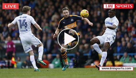 Newcastle United vs Blackburn Rovers | Football streaming ...