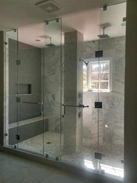 large custom  person shower gulick group luxury home