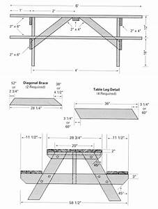 PDF DIY Free Woodworking Plans Picnic Table Download full