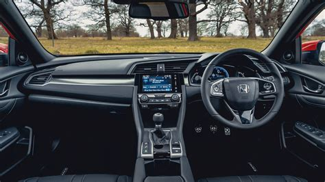 honda civic interior honda civic 1 0 vtec turbo ex manual 2018 review car