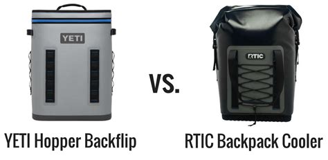 yeti hopper backflip  rtic backpack cooler review