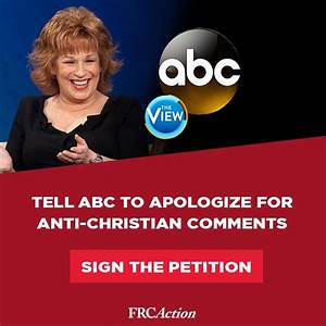 Sign the Petition! Demand an apology... - Family Research ...