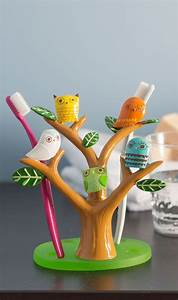 Tree Owl Toothbrush Holder  Product Design