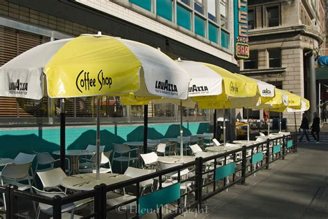 Union square exterior lacks identity originally created as a park in 1807 and opened in 1811 redesigned in 1928 festivals, protests, green market unification of the city first labor day '82 green market '76 what is the selling point? Outdoor Coffee Shop at Union Square in Manhattan   Ellen ...