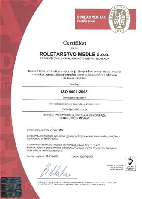 logo iso 9001 bureau veritas certificate bureau veritas iso 9001 2008 roletarstvo medle