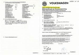 Certificat De Conformité Volkswagen Gratuit : demande de certificat de conformit volkswagen immatriculation d 39 une voiture import e en france ~ Farleysfitness.com Idées de Décoration