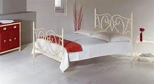 Metallbett 140x200 : romantisches metallbett in wei 140x200 cm san pedro ~ Pilothousefishingboats.com Haus und Dekorationen