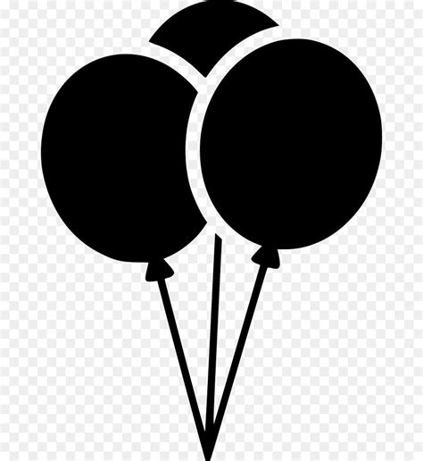 birthday balloons silhouette images