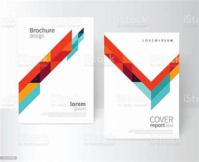 Brochure Template Vector Report Illustration Booklet Annual