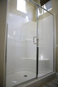 Glass Door For Fiberglass Shower by Fiberglass Shower Doors Shower With A Semi Frameless